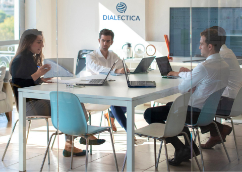 Dialectica team (Photo: Business Wire)