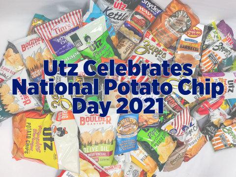 Happy National Potato Chip Day! Source: Utz Quality Foods, LLC
