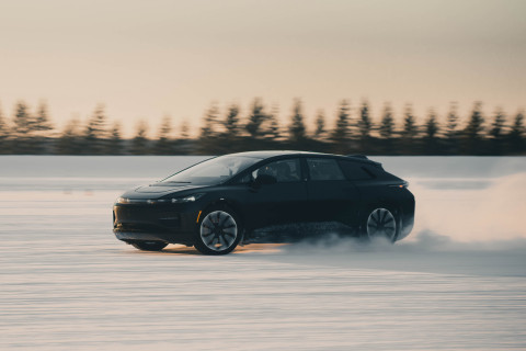 FF 91 Winter Testing (Photo: Business Wire)