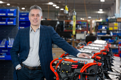 Steve Ivsan, new chief procurement officer of Lightning eMotors (Photo: Business Wire)