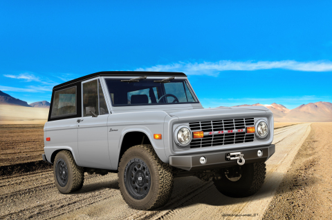 Classic Recreations Classic Ford Bronco Restomod (Photo: Business Wire)