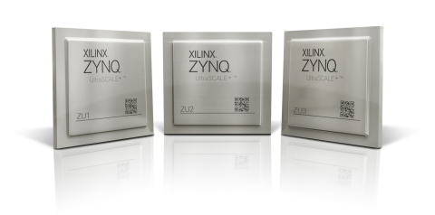 Xilinx® Zynq® UltraScale™ + Chip (Photo: Business Wire)