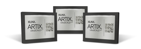 Xilinx® Artix® UltraScale™ + Chip (Photo: Business Wire)