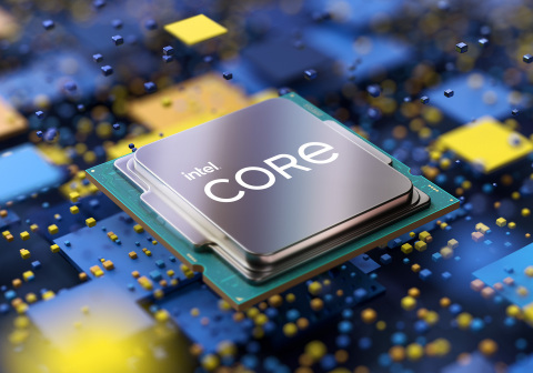 """11th Gen Intel Core desktop processors (code-named """"Rocket Lake-S"""") deliver increased performance and speeds. Intel launched the processors on March 16, 2021. (Credit: Intel Corporation)"""