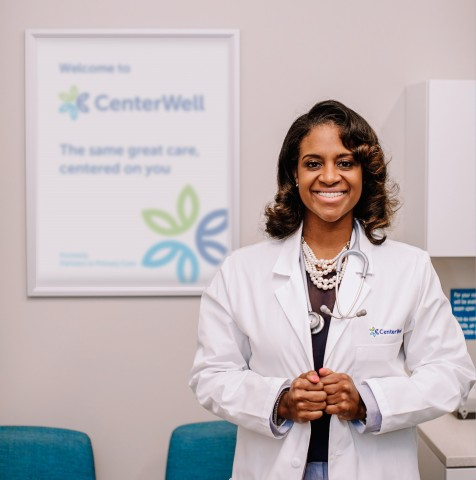 Erica Savage-Jeter, MD, is CenterWell's Regional Medical Director for the Carolinas. (Photo: Business Wire)