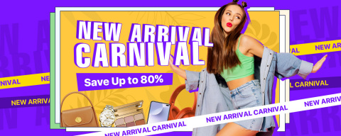 DHgate announced today the kickoff of its 2021 Spring New Arrival Carnival. The promotion is expected to reach its climax from March 22 to 26. Besides discounts of up to 80%, DHgate's Top Selling List and thousands of new arrivals will be highlighted throughout this period to determine the best products for customers. In addition, 3+ day local warehouse delivery services will be available. (Photo: Business Wire)
