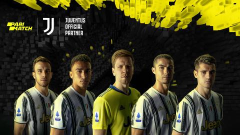 New Global Campaign Featuring Arthur, Danilo, Morata, Ronaldo, and Szczesn | Parimatch & Juventus