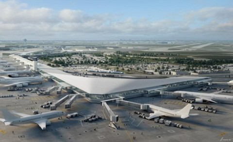 View, Inc. (Nasdaq: VIEW), the market leader in smart glass, announced its smart windows will be installed in the new 350,000-square-foot expansion of Terminal 5 at Chicago's O'Hare International Airport (ORD). (Photo: Business Wire)