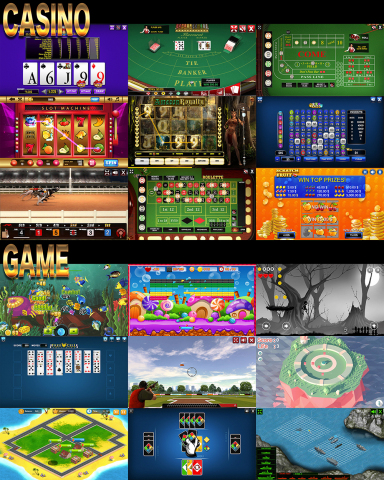 Casino and Some of the Games (Graphic: Business Wire)