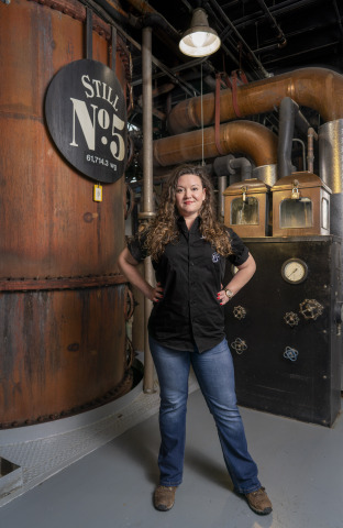 Lexie Phillips Makes History as Jack Daniel's First Female Assistant Distiller (Photo: Business Wire)