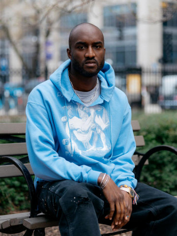 Virgil Abloh collaborates with Braun to mark 100 years of good design (Photo: Business Wire)