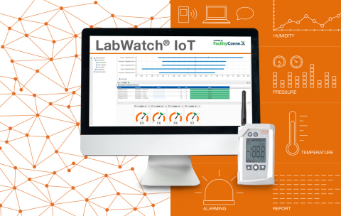 Kaye LabWatch® IoT - Complete Cloud Monitoring Solution (Photo: Kaye)