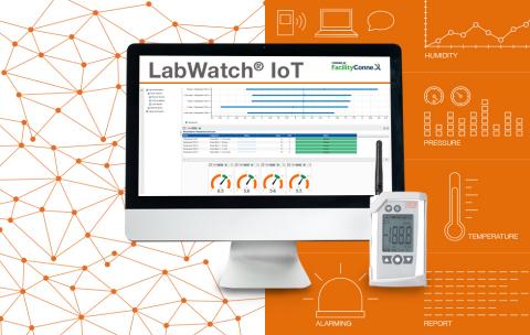 Kaye LabWatch® IoT - un système intelligent de surveillance et d'alarme basé sur le Cloud (Photo : Kaye)