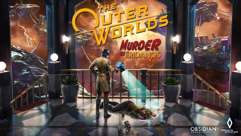 Private Division and Obsidian Entertainment announced The Outer Worlds: Murder on Eridanos, the second and final story expansion for the award-winning and critically acclaimed sci-fi RPG, is now available for the PlayStation®4, PlayStation®4 Pro, Xbox One consoles, and Windows PC. (Photo: Business Wire)