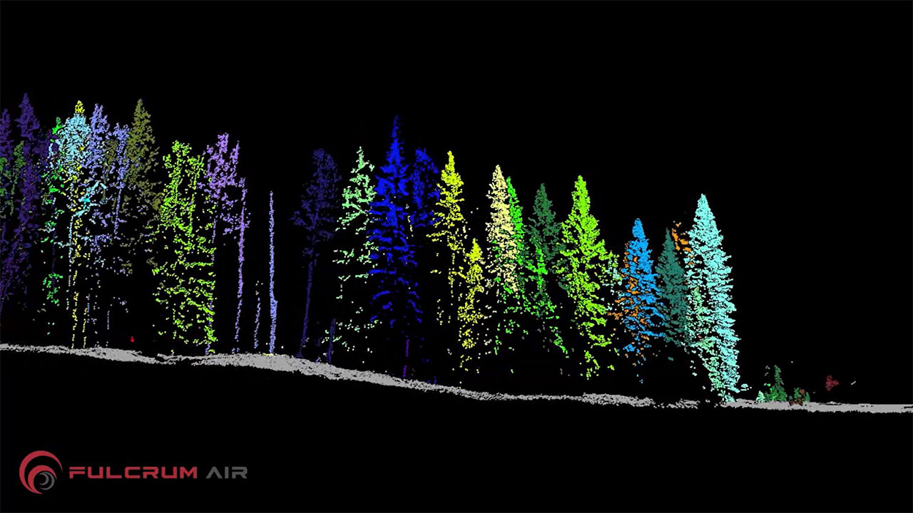 LiDAR Powerline Mapping with FulcrumAir's E2500