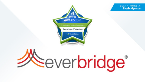 Everbridge Named Top Enterprise IT Alerting Solution for 2020 by IT Central Station