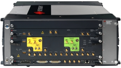 Keysight's 64 GBaud Bit Error Ratio Tester Secures PCI-SIG Approval for Compliance Test Measuring of PCIe 4.0 Technology (Photo: Business Wire)