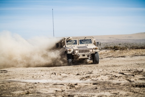 High Mobility Multipurpose Wheeled Vehicle (HMMWV) (Photo: Business Wire)