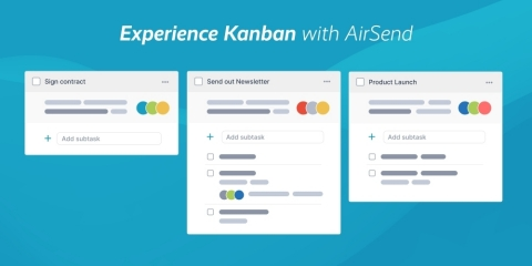 Experience Kanban with AirSend (Photo: Business Wire)