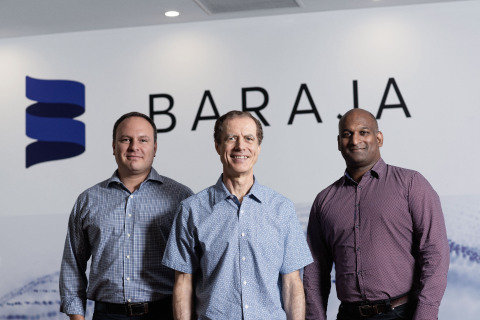 Federico Collarte (left), Craig Barratt (center), Cibby Pulikkaseril (right) (Photo: Business Wire)