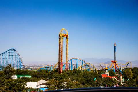 Six Flags Mexico is reopening March 18, 2021. (Photo: Business Wire)