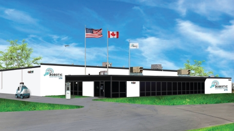 Image of RAD's new location with concept paint job and currently available RAD solutions on patrol. Details for tours will be forthcoming. (Photo: Business Wire)