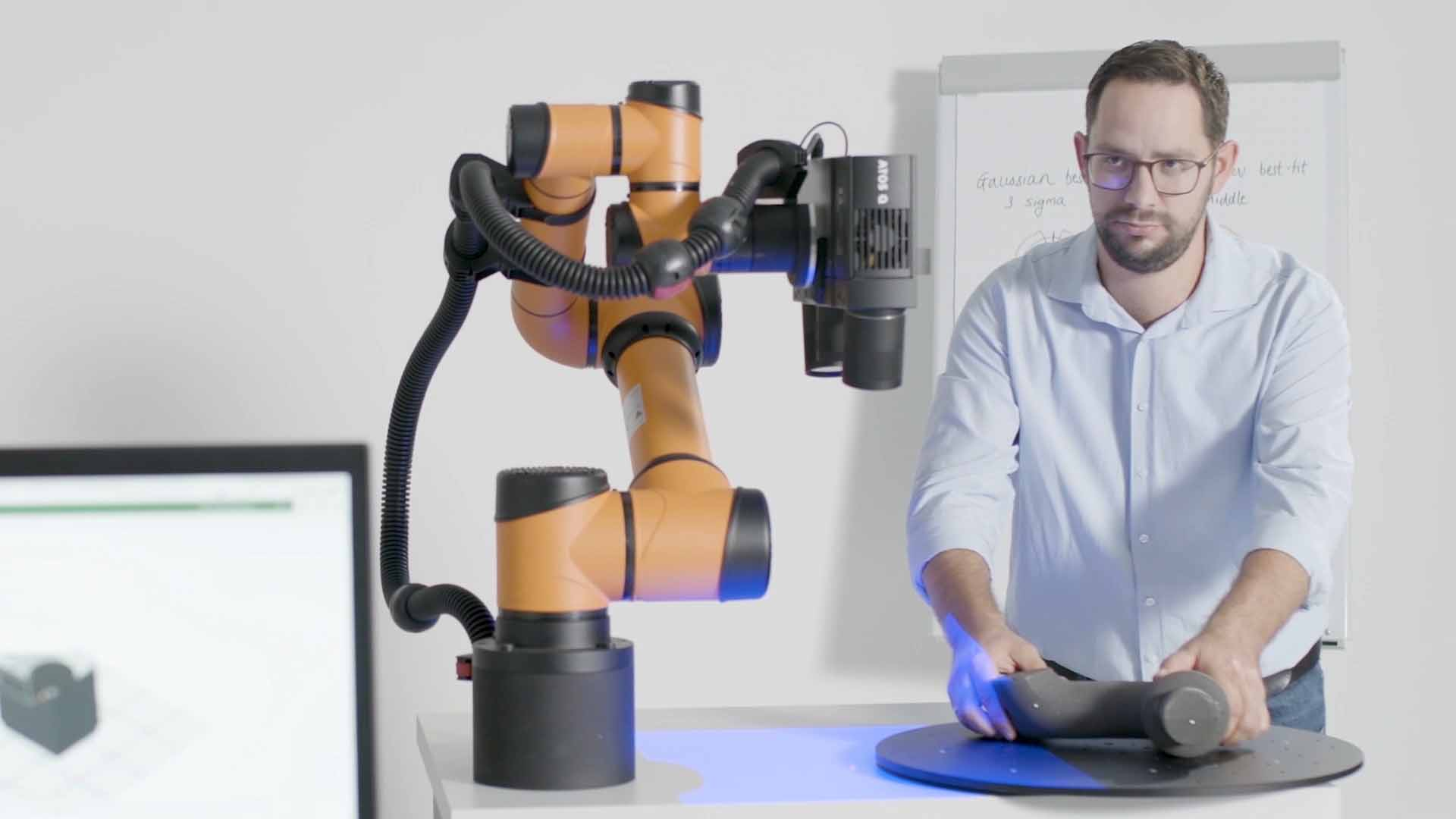 GOM ScanCobot combines accurate ATOS 3D scanning with a collaborative robot and a motorized rotation table to quickly capture high-quality data. Learn more during Capture 3D's live stream event on Thursday, March 25, 2021.