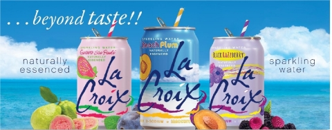 Lacroix . . . beyond taste!! (Photo: Business Wire)
