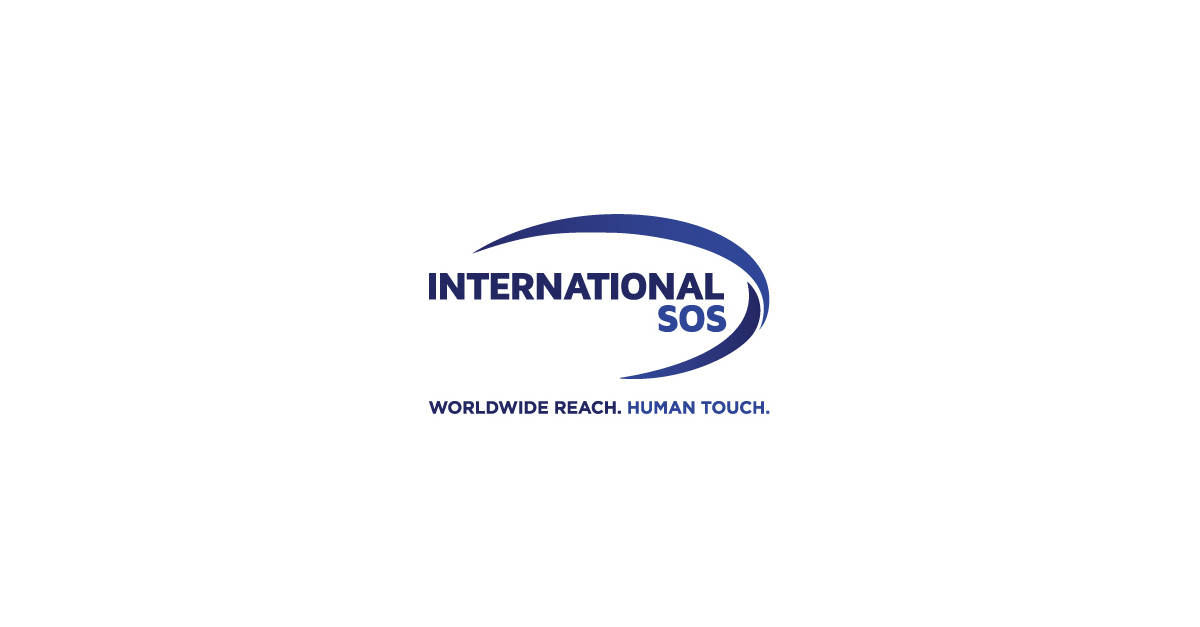International SOS tagline.