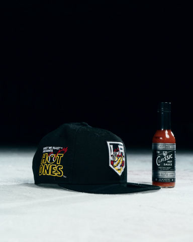 New LA Kings - Hot Ones customized hat. (photo courtesy LA Kings)
