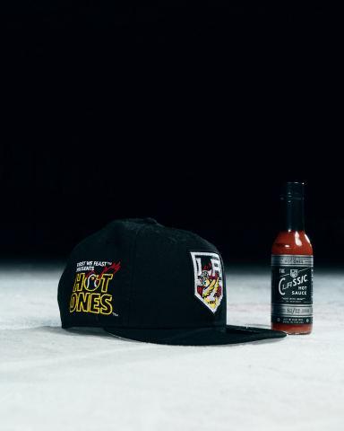 New LA Kings - Hot Ones customized hat. (photo courtesy LA Kings)