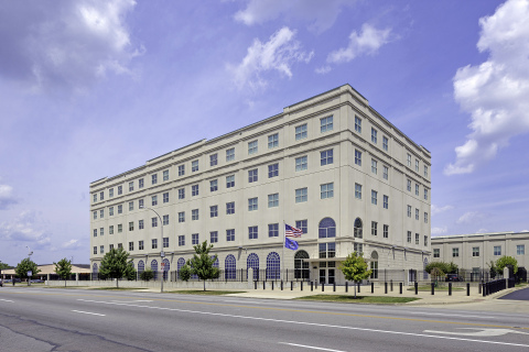 USAO - Louisville is a 60,000 leased square foot LEED Silver build-to-suit property completed in 2011 and is leased through December 2031 by the GSA on behalf of the US Attorney for the Western District of Kentucky (Photo: Business Wire)