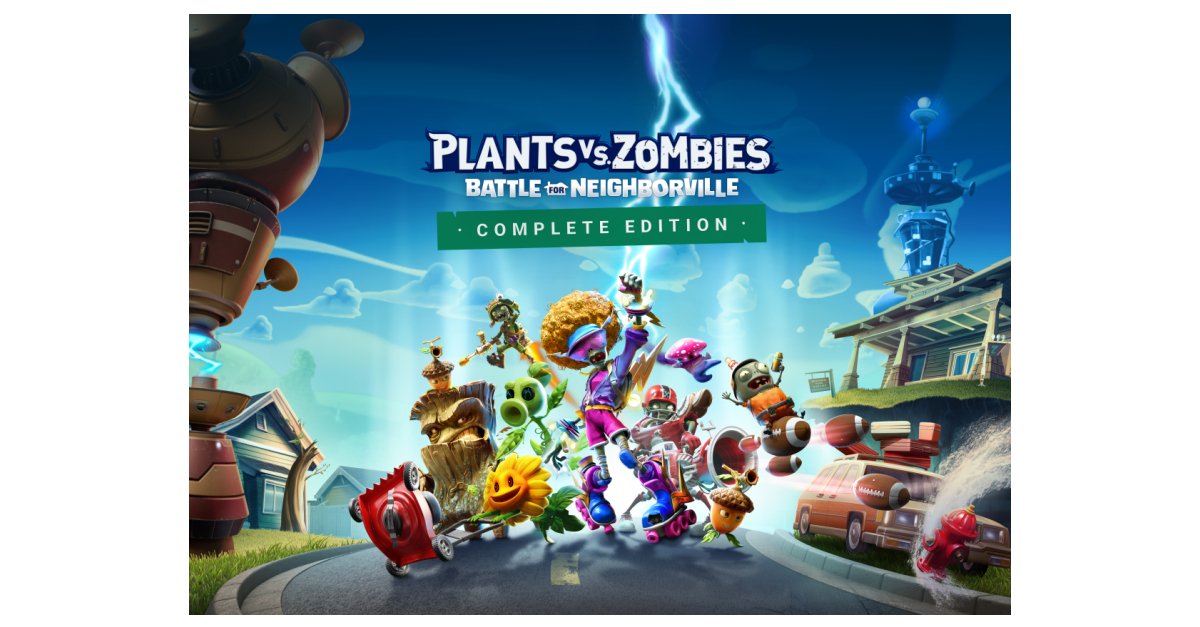 The clash between the flora and the undead is now on the Nintendo Switch sa with plants against zombies: The complete version of the battle for Neighborville ™