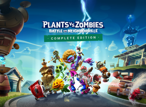 Plants vs. Zombies: Battle for Neighborville™ Complete Edition on Nintendo Switch™ (Graphic: Business Wire)