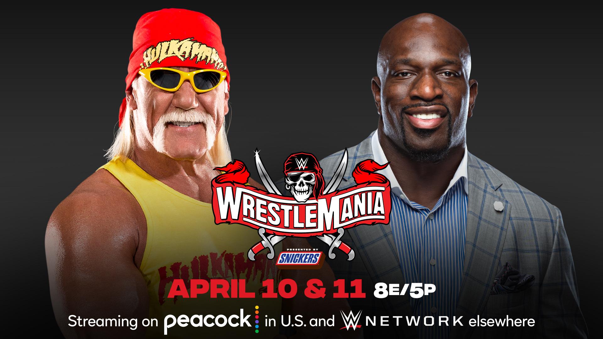 Hulk Hogan® and Titus O'Neil® to Host WrestleMania®   Business Wire