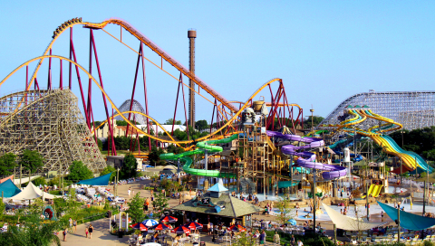 Six Flags Entertainment announces that Six Flags Great America in Gurnee, Illinois will open on April 24, 2021 and Hurricane Harbor Chicago will open on May 29, 2021 as a separate gate, becoming the company's 27th park. (Photo: Business Wire)