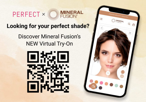 Perfect Corp. Partners with Mineral Fusion for Virtual Try-On Experience in Whole Foods (Graphic: Business Wire)