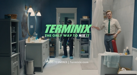 The Only Way to Nix It, Is to Terminix It ... Known for his tenuous charm and tricky name, coupled with a New Zealand accent, a new campaign from Terminix features Rhys Darby, who shows up in the middle of a series of DIY pest control mishaps. www.terminix.com (Photo: Business Wire)