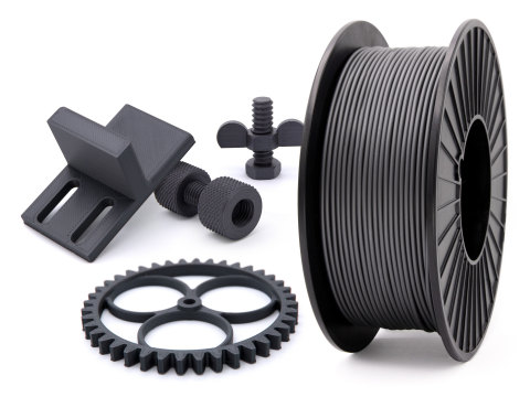 Jabil PA 0600 is ideally suited for durable, repetitive-use parts, including gears and screws with detailed threads and knurling (Photo: Business Wire)