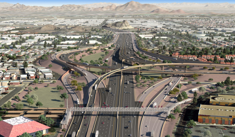 Iteris Awarded $3.5 Million Contract for Role in Arizona DOT's I-10 Broadway Curve Improvement Project (Photo: Business Wire)