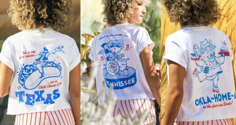 SONIC celebrates geographic diversity and the variety of the SONIC experience with Local SONIC Swag featuring iconic art. (Photo: Business Wire)