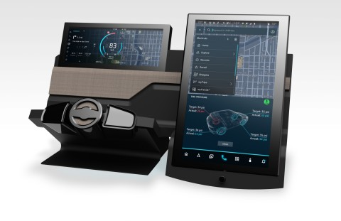 Now available in Garmin Automotive OEM systems, the Amazon Alexa Custom Assistant gives automakers the flexibility to create their own intelligent branded assistant. (Photo: Business Wire)