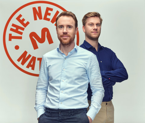Krijn de Nood, CEO and co-founder (left) and Daan Luining, CTO and co-founder of Meatable. The Dutch cultivated meat startup recently closed $47 million USD in its Series A funding round, bringing the company's total funding to $60 million. Investors include life sciences and food investors including Section 32, DSM Venturing, Dr. Rick Klausner, Dr. Jeffrey Leiden and others. (Photo: Business Wire)