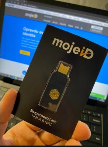 GoTrust FIDO2 Security Level 2 Idem Key, mojeID Identity service provided by CZ.NIC (Photo: Business Wire)