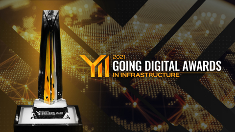 Participate in the 2021 Going Digital Awards to gain global recognition for digital advancements in infrastructure. Image courtesy of Bentley Systems. (Photo: Business Wire)