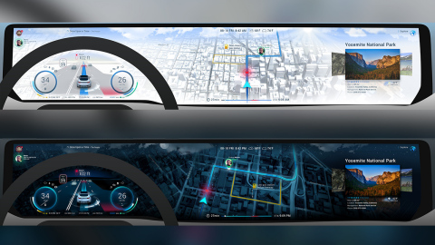 Unity and HERE Collaborate On Real-Time 3D In-Vehicle Experiences (Photo: Business Wire)