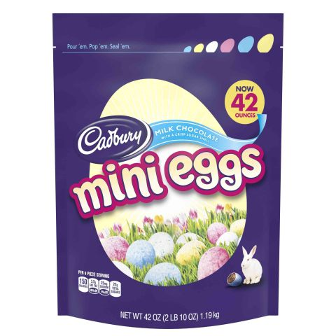 BJ's Wholesale Club is making Easter easy with egg-citing savings on sweet treats like Cadbury Mini Eggs Easter Candy, 42 oz. (Photo: Business Wire)