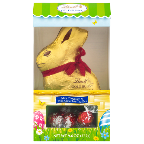 BJ's Wholesale Club is making Easter easy with egg-citing savings on sweet treats like the Lindt Gold Bunny with Truffle Hutch. (Photo: Business Wire)