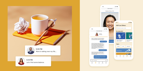 Ginger announces $100 Million Series E financing from Blackstone to bring value-based mental healthcare to millions of employees and health plan members. (Graphic: Business Wire)