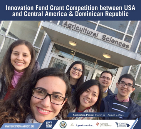 The 100,000 Strong in the Americas Innovation Fund Grant Competition for higher education, promoted by the Bureau of Western Hemisphere Affairs of the U.S. Department of State and supported by AgroAmerica, the U.S. Embassy in Guatemala, and the NGO Partners of the Americas, aims to impulse education initiatives through innovative models of academic training and student exchange programs between the United States and Central America & Dominican Republic, beginning in January 2022. Institutions of higher education in the United States and Guatemala, El Salvador, Honduras, Costa Rica, Panama, Belize, Nicaragua, and the Dominican Republic are invited to submit their 100K grant proposals to Partners of the Americas at 100kstrongamericas.org/grants before August 2, 2021. (Photo: Business Wire)